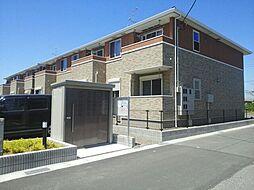 千葉県木更津市高柳の賃貸アパートの外観