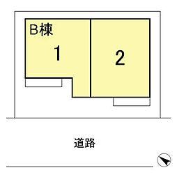 [テラスハウス] 千葉県船橋市七林町 の賃貸【千葉県 / 船橋市】の外観