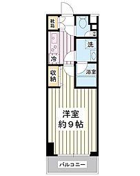 スカール富士見[3階]の間取り