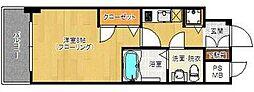 ピュアドーム箱崎ステーション[2階]の間取り