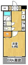 コフレ横浜星川[605号室]の間取り