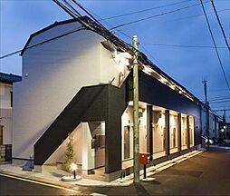 千葉県流山市松ケ丘4の賃貸アパートの外観