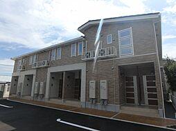 愛知県岡崎市堂前町2丁目の賃貸アパートの外観