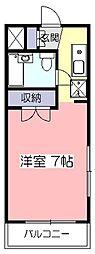 アビタシオン元町[3階]の間取り