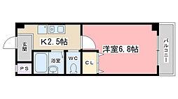 J・Tトキジン[205号室]の間取り
