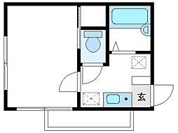メゾンタニグチ[3階]の間取り