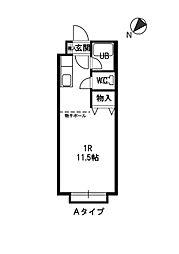 北海道札幌市白石区平和通4丁目北の賃貸マンションの間取り