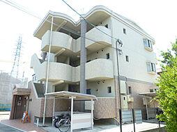 静岡県磐田市海老塚の賃貸マンションの外観