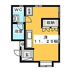 ティノチッタ[2階]の間取り