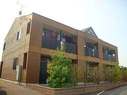群馬県高崎市沖町の賃貸アパートの外観
