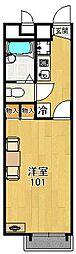 レオパレスT&Y[2階]の間取り