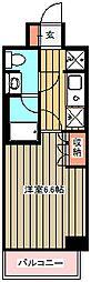 エスティメゾン武蔵小金井[804号室]の間取り