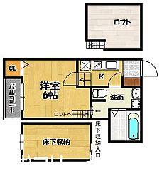 YS吉塚駅東I[1階]の間取り