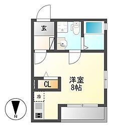 Plan Baim Atsuta Tenma[1階]の間取り