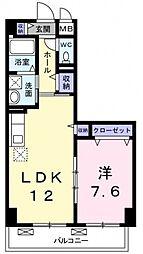 グランユニゾン[4階]の間取り