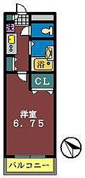 Zephyr S −ゼファ・エス-[303号室]の間取り