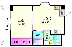 エスティ21[2階]の間取り
