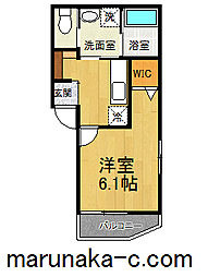 神奈川県相模原市緑区橋本1の賃貸アパートの間取り