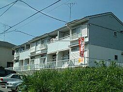 千葉県松戸市小金原の賃貸アパートの外観