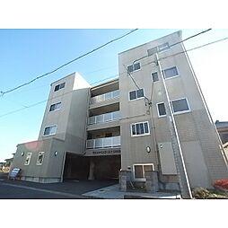 静岡県静岡市駿河区下島の賃貸マンションの外観