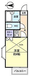 EA京成大和田[2階]の間取り
