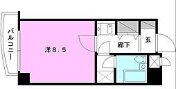 ライオンズマンション宮西壱番館[204 号室号室]の間取り