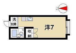 エステートピア矢尾[1階]の間取り