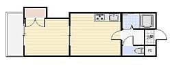 エンドレス519[3階]の間取り