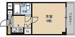リッチハイツパークサイド[3階]の間取り