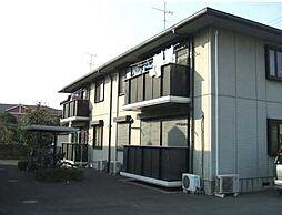 埼玉県加須市旗井の賃貸アパートの外観