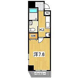 K・CASA大宮[7階]の間取り