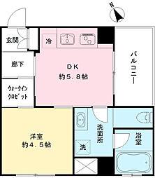 飛田給駅 9.5万円