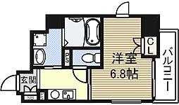 エイペックス京町堀[8階]の間取り