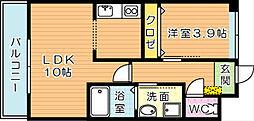スマートピアーK[2階]の間取り