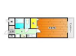 トレイズ3[2階]の間取り