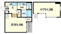 HappinessKI[2階]の間取り