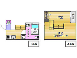 Hokulani福大前(ホクラニ)[1階]の間取り