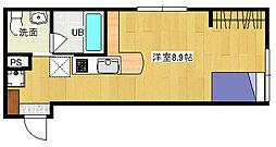 リヴィエール戸坂II[3階]の間取り
