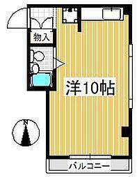 サボハウス[304号室]の間取り