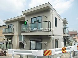 岡山県倉敷市鳥羽の賃貸マンションの外観