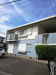 神奈川県茅ヶ崎市中島の賃貸アパートの外観