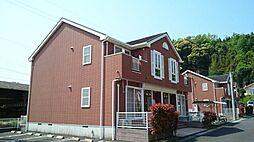 鹿児島県日置市東市来町長里の賃貸アパートの外観