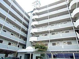 岡山県岡山市北区厚生町2の賃貸マンションの外観