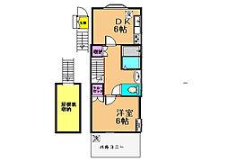 [テラスハウス] 東京都世田谷区粕谷4丁目 の賃貸【/】の間取り