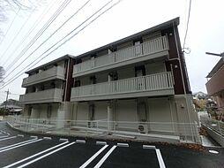 千葉県市原市藤井の賃貸アパートの外観
