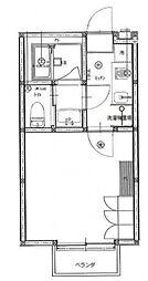 ユーフラット天王台[105号室号室]の間取り