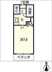 アイコーサンハイツ[3階]の間取り