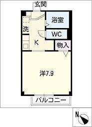 タウンコート[1階]の間取り