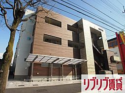 千葉県千葉市中央区末広1丁目の賃貸アパートの外観