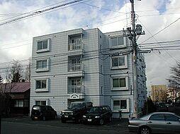 北海道札幌市豊平区月寒東二条19丁目の賃貸マンションの外観
